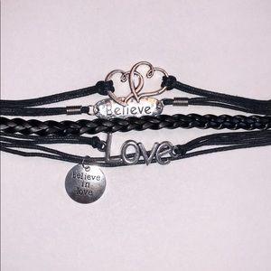 Jewelry - Believe In Love Infinity Bracelet